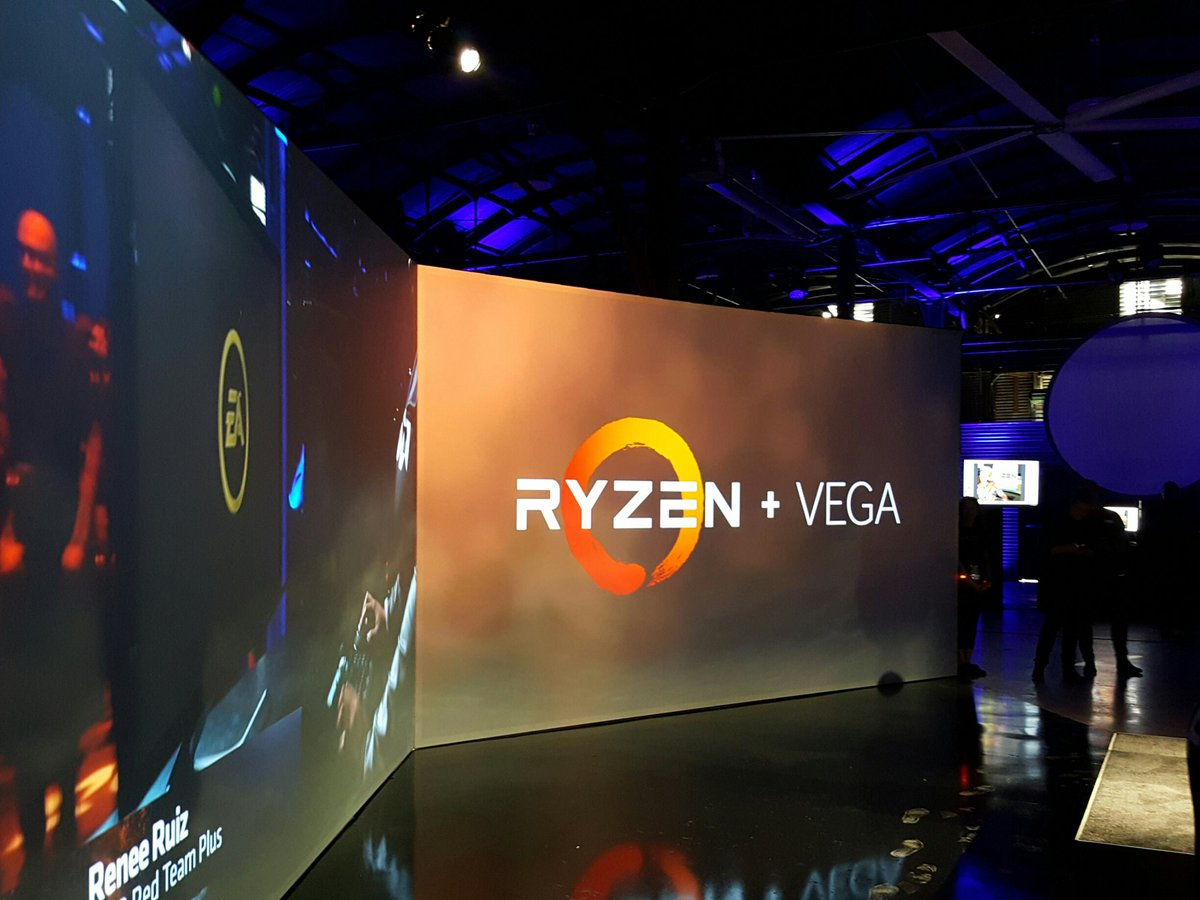 The first person to ever play on #Vega & #Ryzen  is none other than #AMDRTP own @Virgo4u86 !!!! https://t.co/JFNTQjVXWq