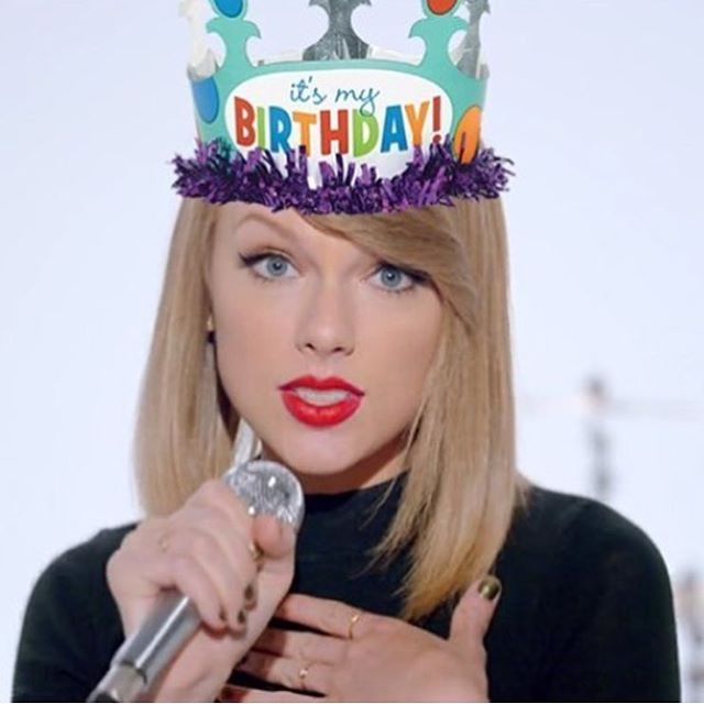 Comment with one emoji to wish Taylor Swift a happy birthday!