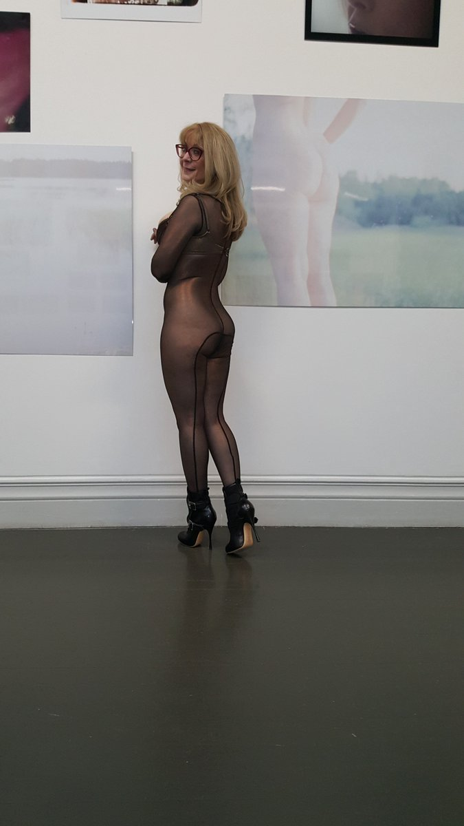 A shot of me in the gallery at the museum in Helsinki: Outfit by 1VgnixFHki, bra by