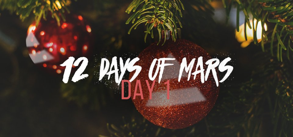 #12DaysOfMars has officially BEGUN.. Take a look: https://t.co/X4RbPwellW @MarsStore https://t.co/c3RsDoIlQB