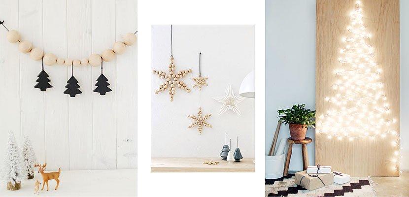3 DIY navideños para decorar las paredes de casa