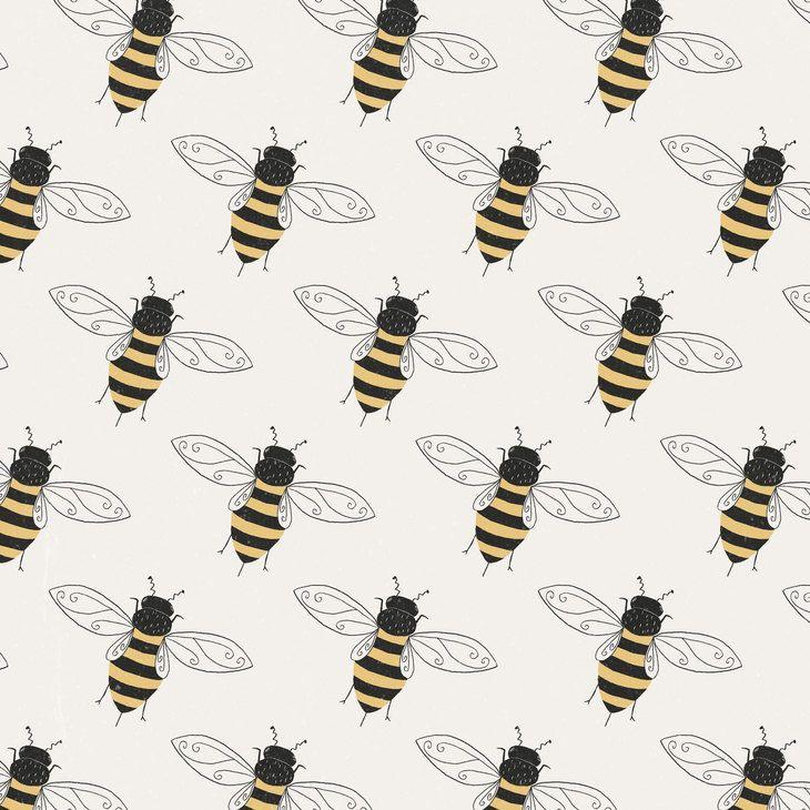 RT @hitRECord: A little bee pattern by @tesslucia — https://t.co/BcbKtgIf8E https://t.co/YBJgplgzSN