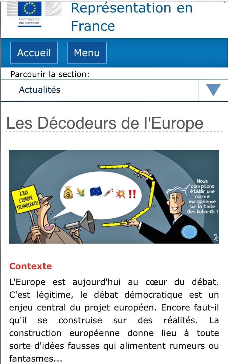 🇪🇺Les fiches des Décodeurs de l'Europe sont en ligne ! RDV dès maintenant ici 👉🏻https://t.co/HnysOK185d #DecodeursUE