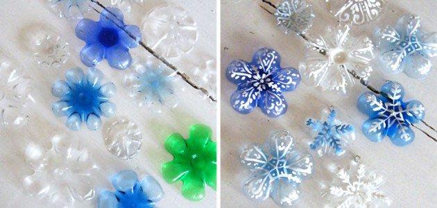 5 #Manualidades navideñas con botellas de plástico recicladas  #Navidad