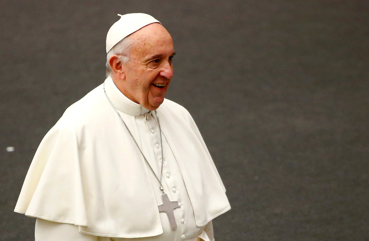 Pope jokes early birthday greetings may bring a jinx