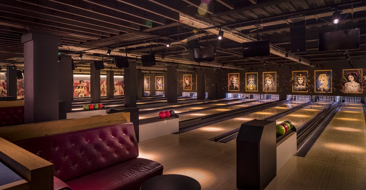 Queens Ice & Bowl London's best bowling alleys