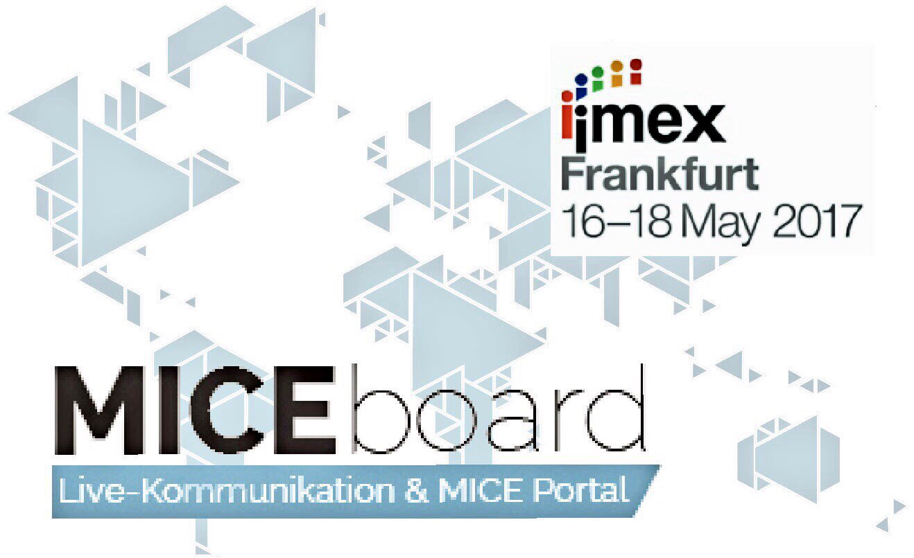 Save the date! Mit #MICEboard zur #imex https://t.co/IoUwP1ytVq