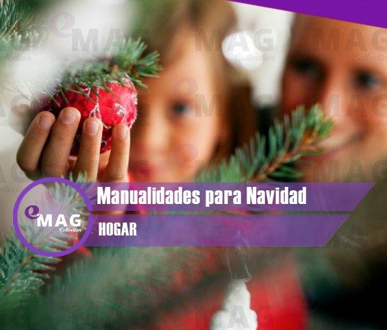 Manualidades sencillas y económicas para Navidad