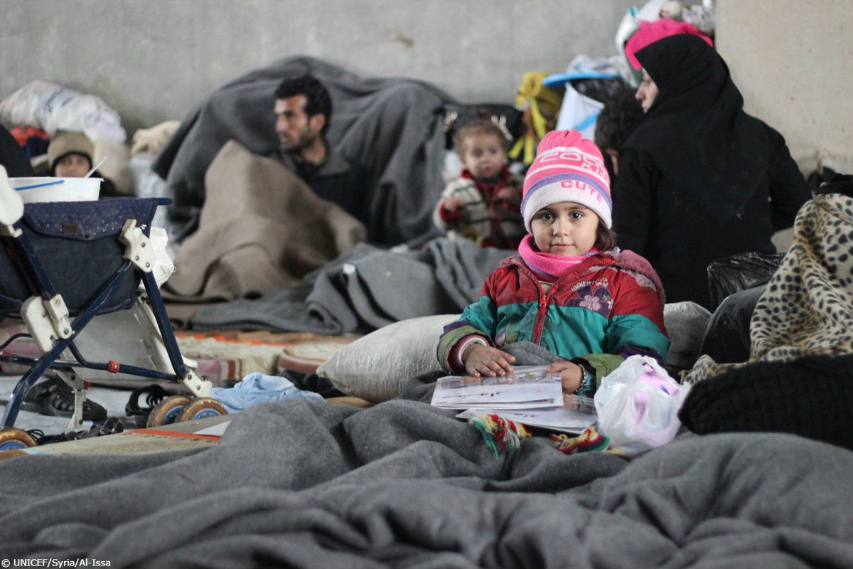"""""""There is no safe place left in #Aleppo"""". The nightmare that is reality for children in #Syria @SingerHanaa https://t.co/GwbjZHq0iR"""