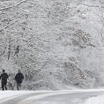 Arctic air brings winter storms to Wyoming and Midwest