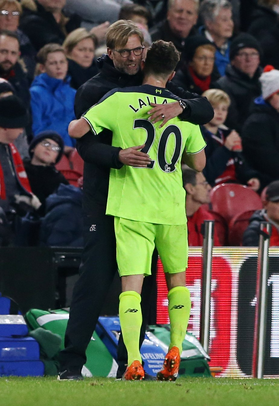 FULL-TIME Middlesbrough 0-3 Liverpool. An Adam Lallana double & Divock Origi strike send the Reds up to 2nd #MIDLIV https://t.co/NilvzhAGy0