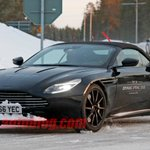 So we think the Aston Martin DB11 Volante is coming in Spring 2018