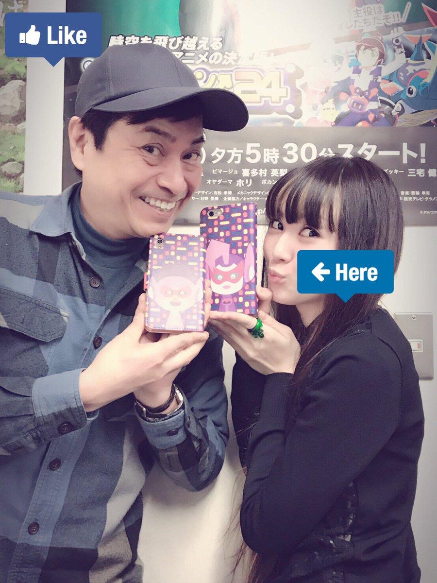 タイムボカン24携帯カバーではいチーズ☆Photo by 三宅健太