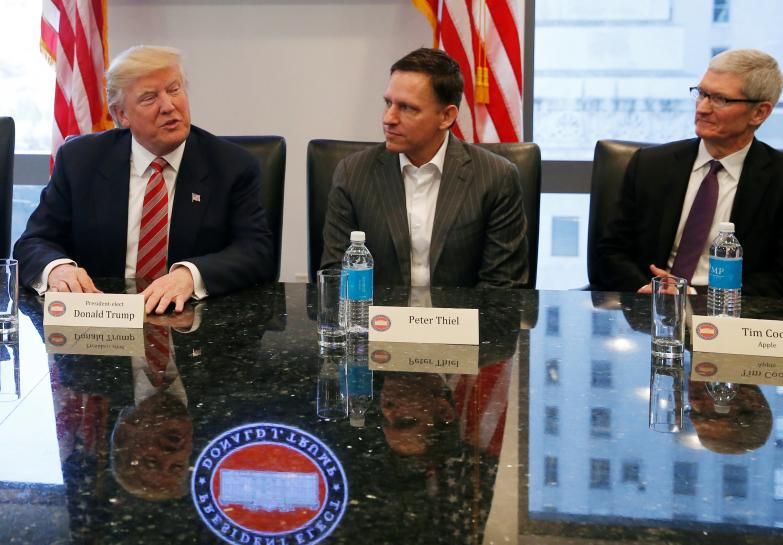 Trump meets Silicon Valley elite after mutual mistrust in campaign