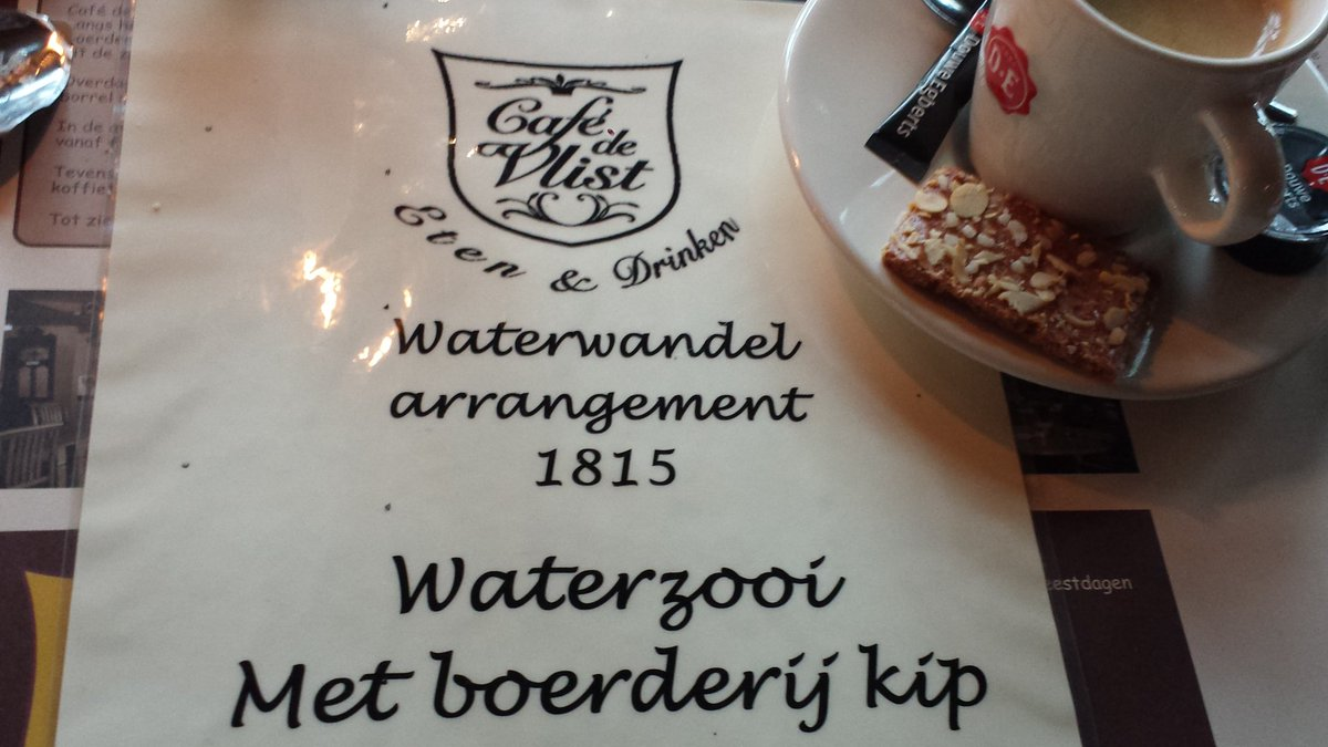 test Twitter Media - @CafedeVlist Nog even 'n kopje koffie & dan aan de wandel, arrangement #1815 #Koeneschans Oude Hollandse #Waterlinie https://t.co/cih3FZVMyF