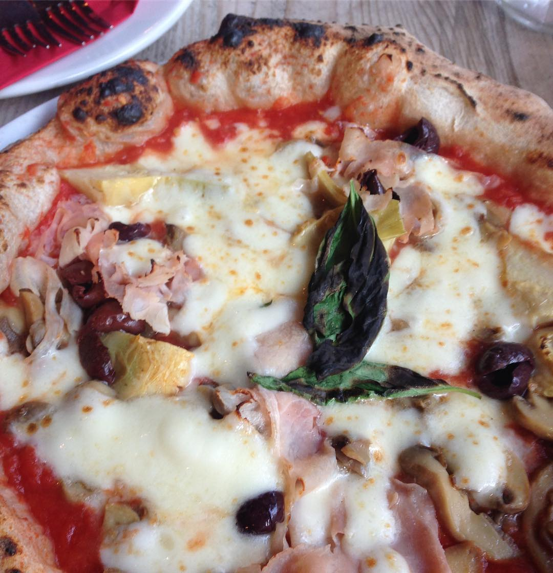 Rossopomodoro London's Best Pizza with Deliveroo