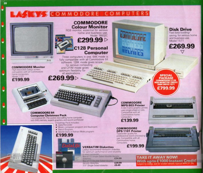 What #commodore hardware would you like from Laskys this Christmas? #RETROGAMING https://t.co/0iZUDeoa2W