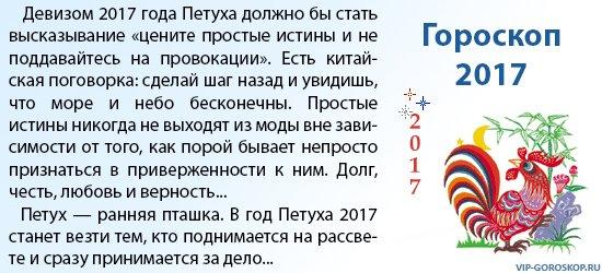 Важный гороскоп на 2017 год по знакам