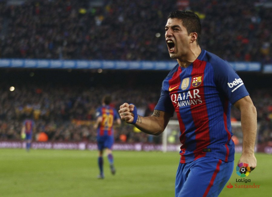 66 ⚽️ in his three seasons in #LaLiga!   @FCBarcelona have agreed a contract extension with Luis Suarez which ties him until 2021. 📝🇺🇾 https://t.co/HJLut6KckZ