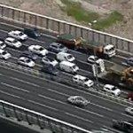 West Gate Bridge crash causes traffic chaos