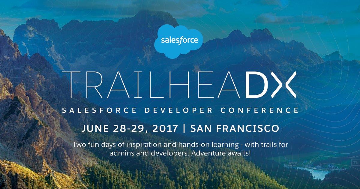 #TrailheaDX dates have been announced: https://t.co/rL8yhrebSl #BlazeYourTrail https://t.co/PEf0rdsl99
