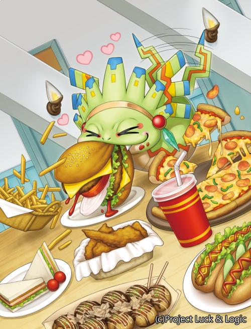 【宣伝】本日発売、ラクエンロジックSPB-01「Trance Re:union」にて、「暴飲暴食 ケッツー」を描かせてい