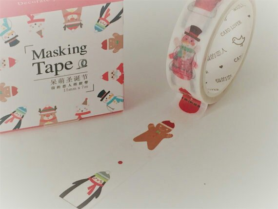 Christmas Washi TapeRT+F to win   Ends 16.12 11pm freebiefriday
