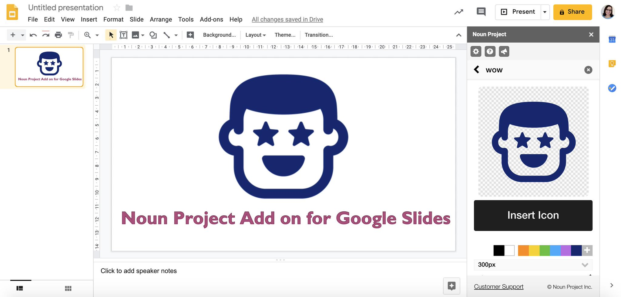 Just discovered the noun project add on for Google Slides! Love this! A time saver! @tonyvincent @nounproject https://t.co/0OzxmKF02g