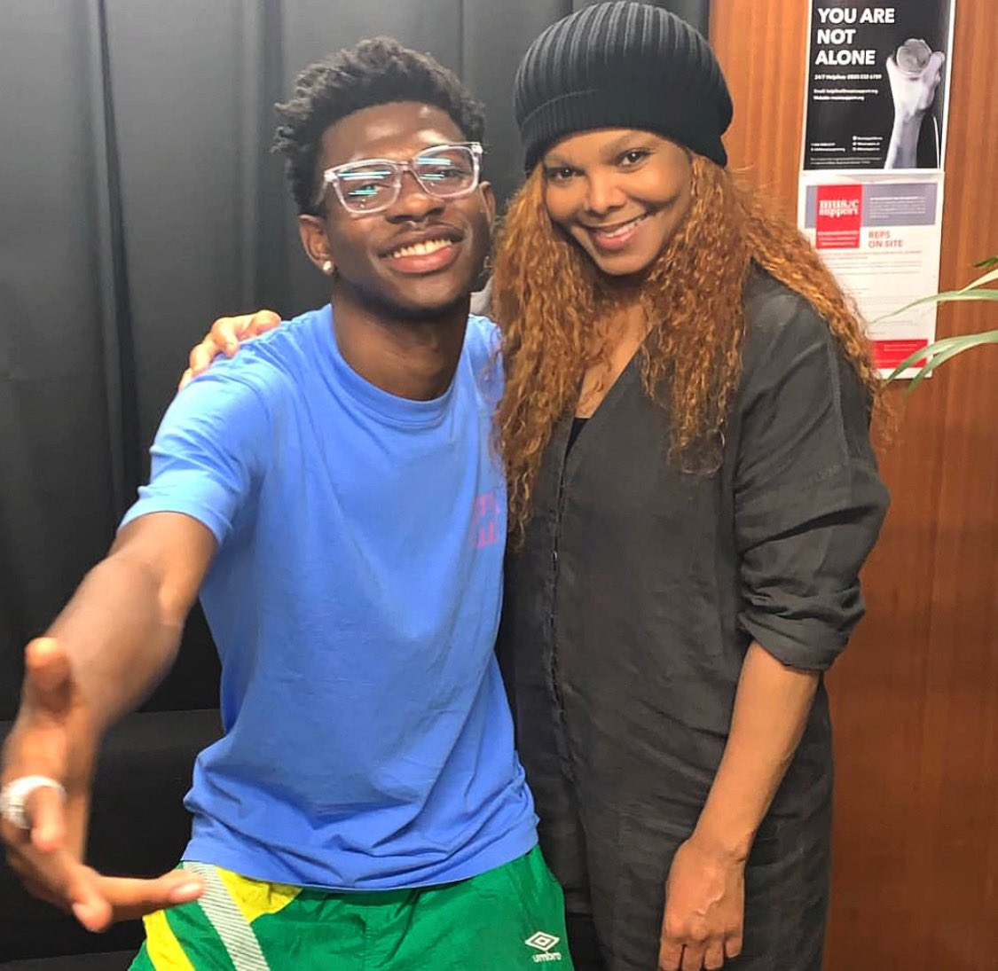 """Can't nobody tell us nothin'..."" Congrats on all your success. So good meeting u @LilNasX ???? https://t.co/c7ShpZOc1B"