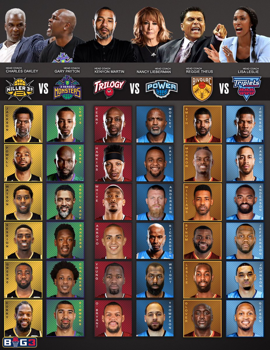 After the World Cup, check out some Round Cup. @thebig3 on @CBS at 1pm ET. https://t.co/Y6AN0EYpFn