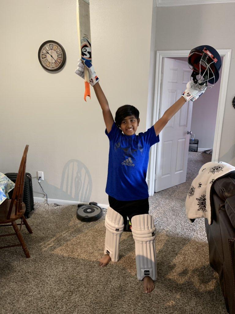Happy Birthday Dhoni, today is my son birthday