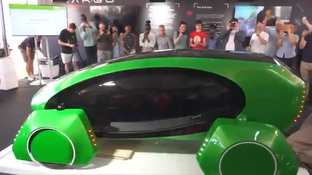 This driverless vehicle is designed to offer 'last-mile' delivery solution #Charged https://t.co/K2FQTACiAg
