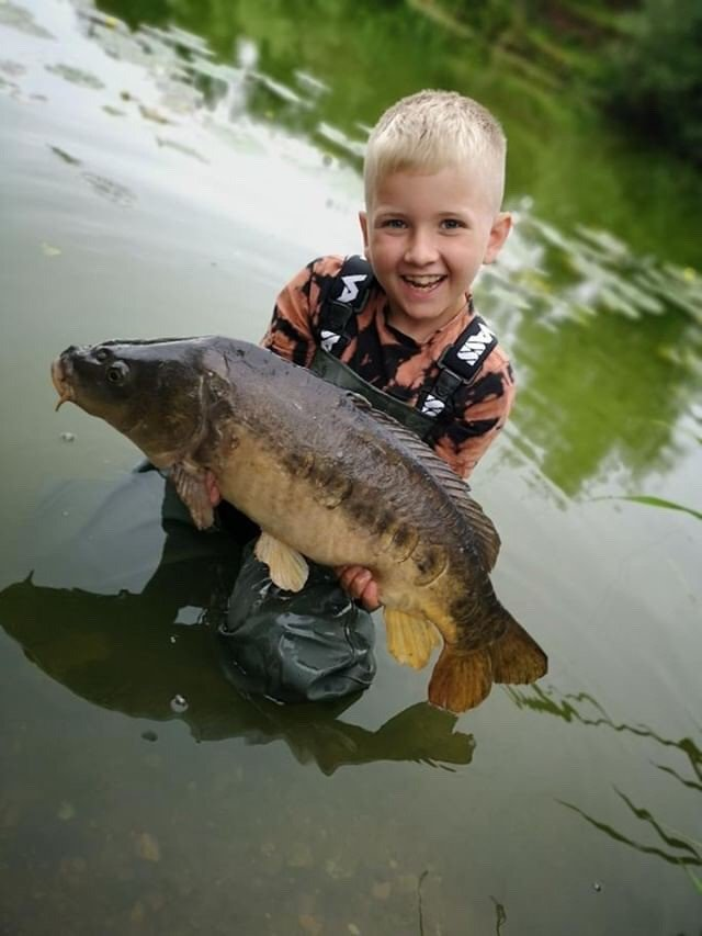 First <b>Water</b> shot and still buzzing! #carpcrazykid #carpfishing #vasswaders https://t.co/V55mv