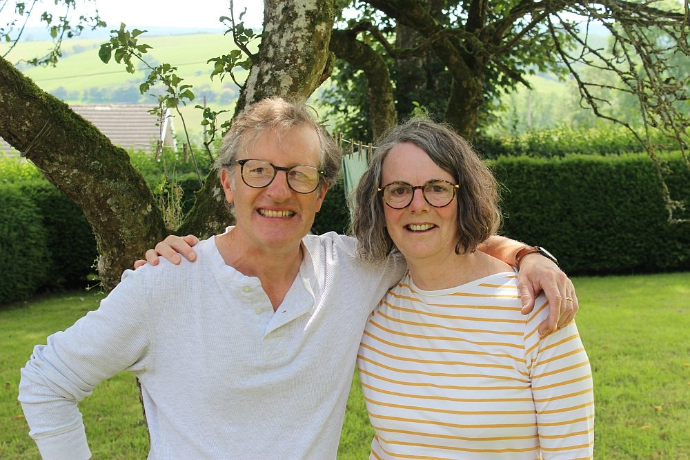 Image for A very warm welcome to Michael Harvey and Hazel Bradley, course leaders on this year's Annual Storytelling Week!  There will be live performances during the week. Join us to celebrate a quarter century! https://t.co/7yAZHZ95Xd #BleddfaStory25 #storytelling #RealMidWales #Powys https://t.co/WKcfcUbst1
