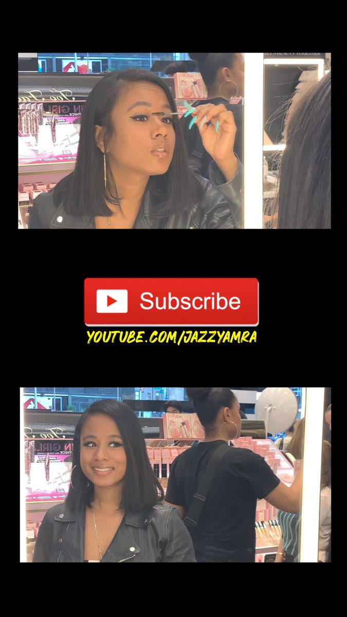 Subscribe to @JazzyAmra YouTube Channel for some exclusive behind the scenes ???????? https://t.co/s2qIPtnkij https://t.co/20ZqVs9j8F