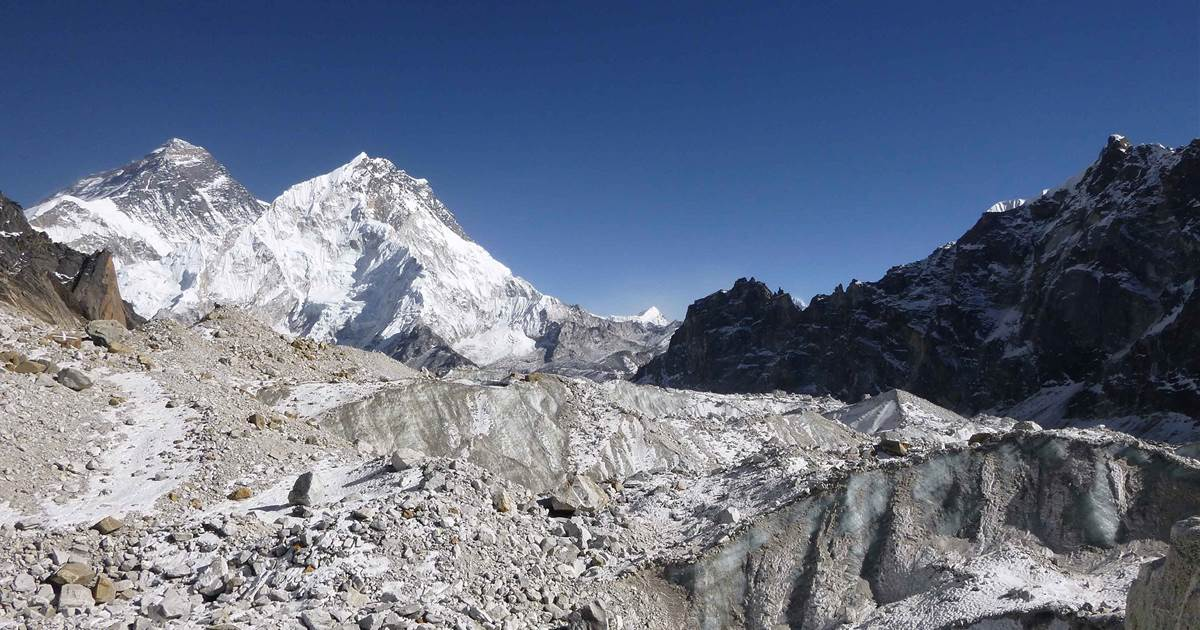 Glaciers on the Himalayas are melting about twice as fast as they used to, spy images reveal