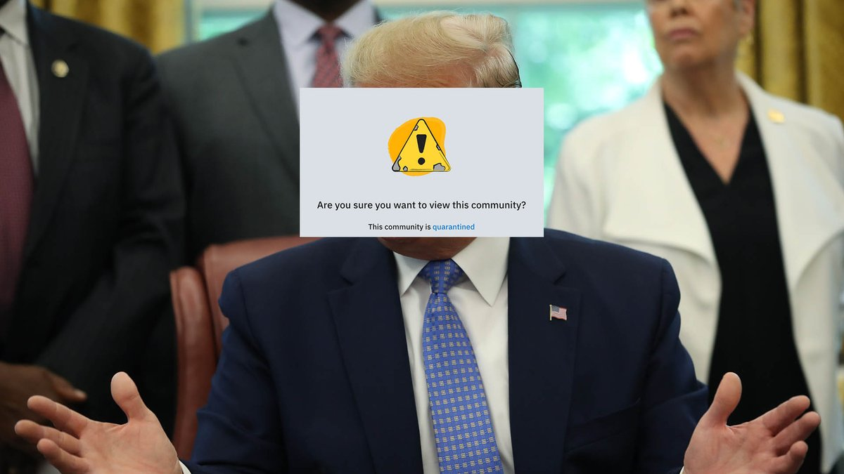 Trump subreddit r/The_Donald quarantined by Reddit for inciting violence