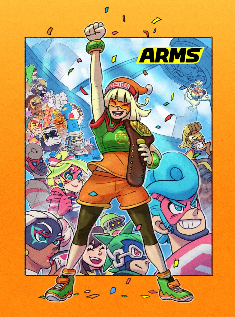 Min Min scored a huge victory in 2019, taking the Party Crash Bash Championship during the #ARMS 2nd anniversary. Thanks to all players who participated!   Who's ready to get some win wins with Min Min in #SmashBrosUltimate?