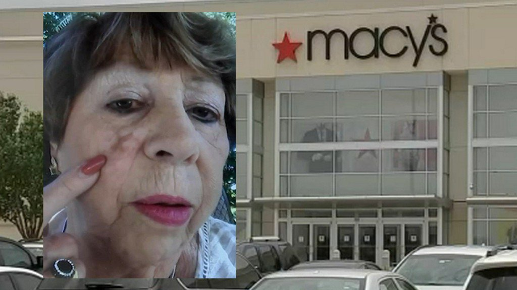 Woman claims Houston Macy's employee left permanent 'X' on her face | abc13.com