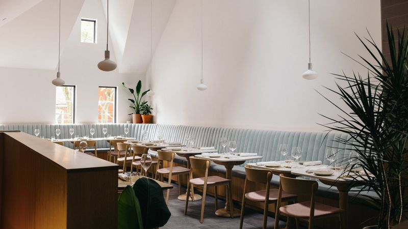 Modern Earthy Restaurant Designs : sara in toronto
