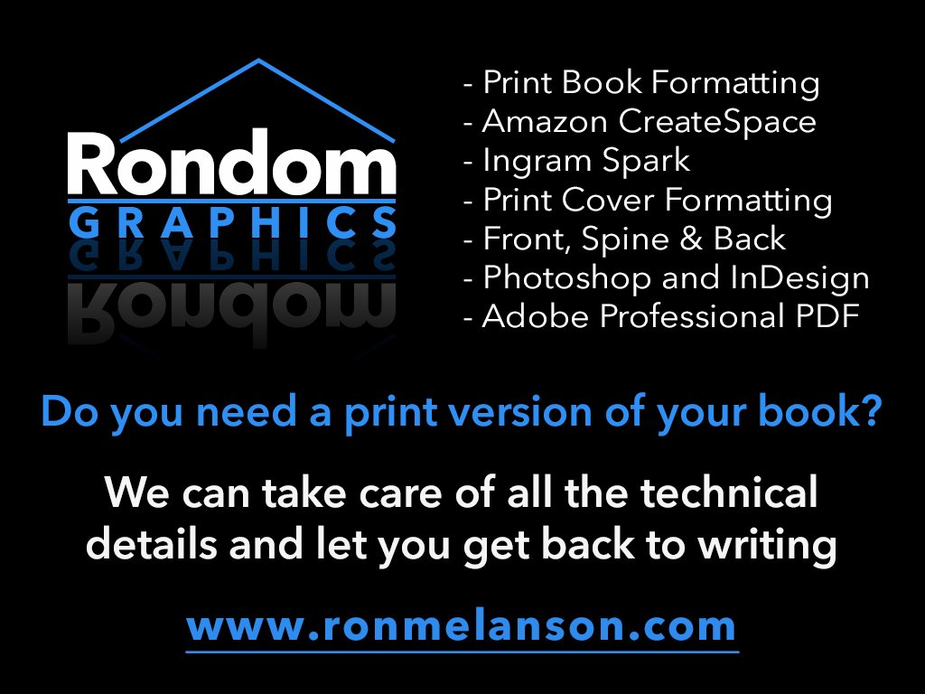 Photography - Graphic Design - Author Services - Rondom Graphics