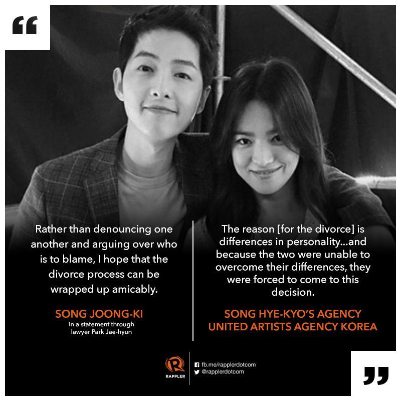TIMELINE: The last 4 years of the Song-Song couple