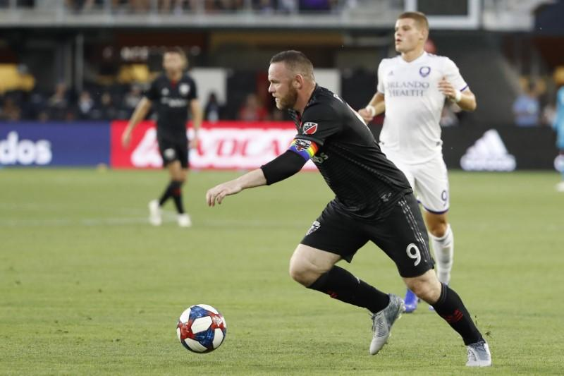 Rooney scores from own half in stunning strike for DC United - Reuters