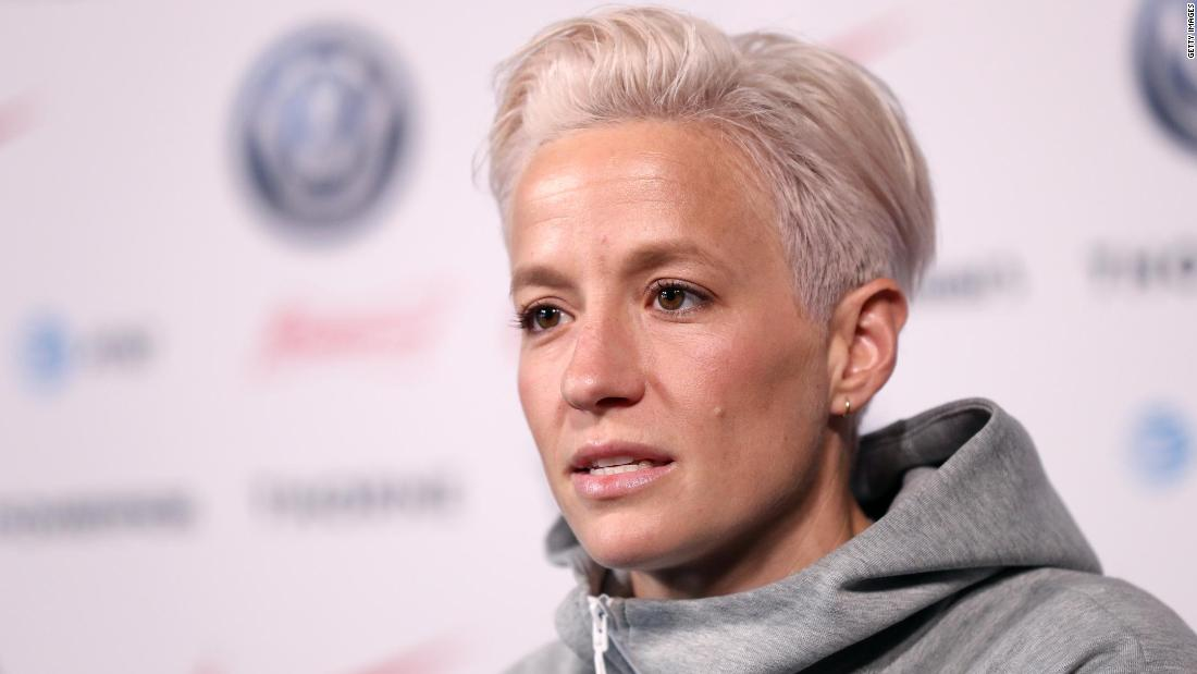 Megan Rapinoe, US women's soccer star, says she's 'not going to the f*****g White House' - CNN