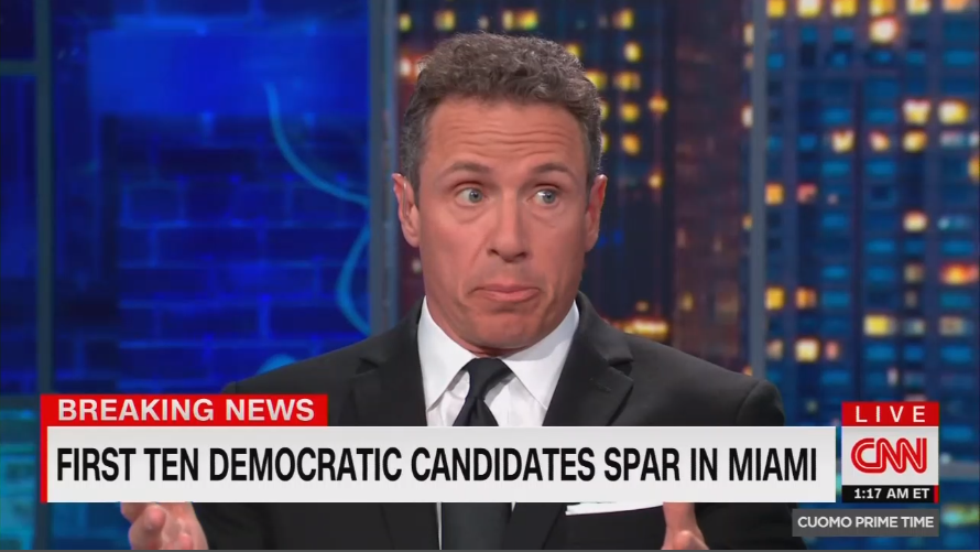 Late Night CNN: Cuomo Admits 'People Pick Favorites in This Business'