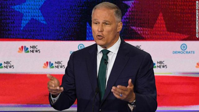 Jay Inslee hits Trump: Wind turbines don't cause cancer. They cause jobs.