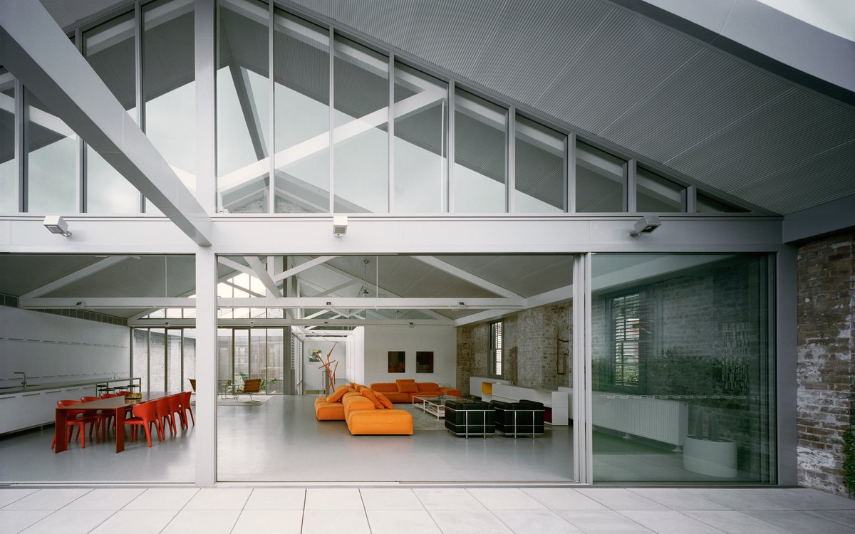 Redfern Warehouse by Ian Moore Architects is converted warehouse