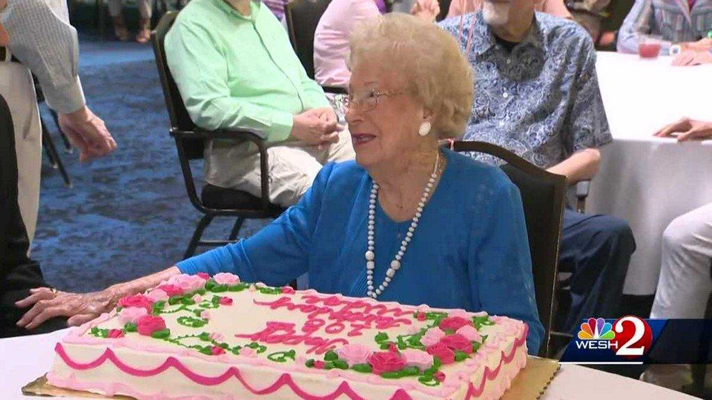 Happy Birthday Midge! Winter Park woman celebrates turning 108