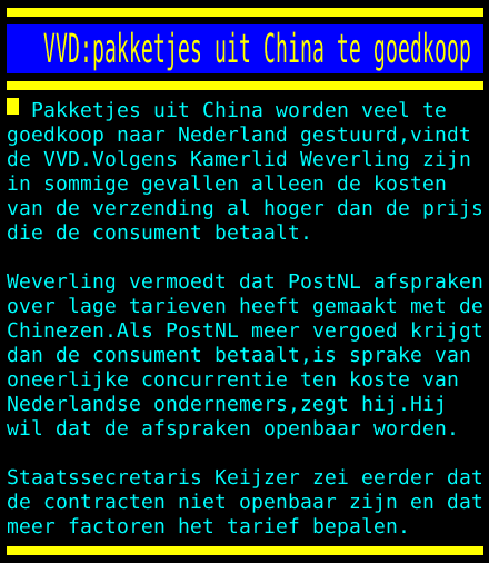 test Twitter Media - VVD:pakketjes uit China te goedkoop https://t.co/g1VKC66p1U