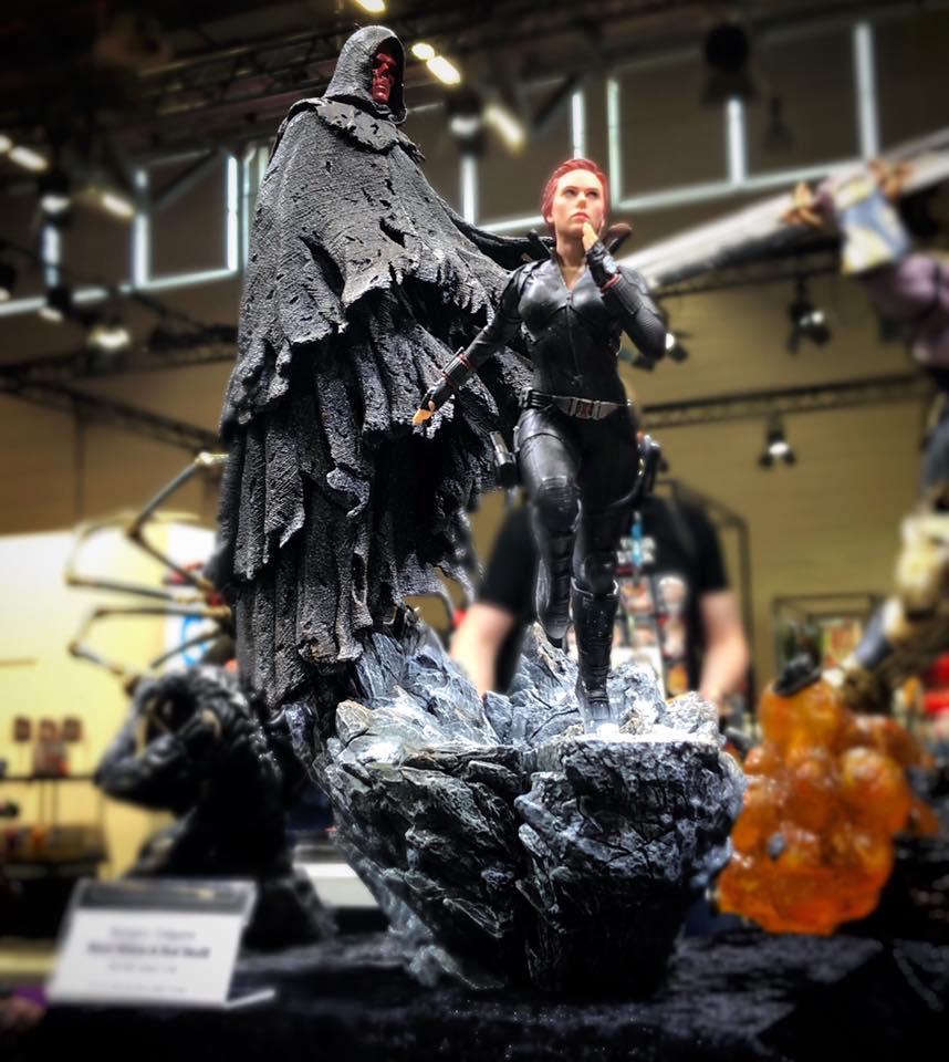 RT @FUCKKEN: BDS Art Scale 1/10 #AvengersEndGame #BlackWidow #RedSkull  by Iron Studios https://t.co/mitWqmgi3A